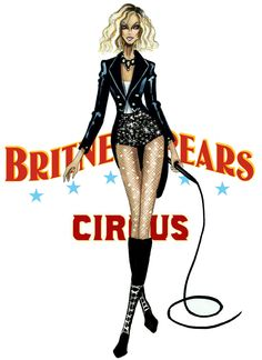 The Britney Spears Eras - Circus - by Armand Mehidri