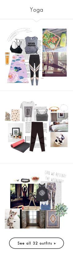 """Yoga"" by d-addams ❤ liked on Polyvore featuring Balmain, NIKE, Sweaty Betty, Casetify, Bling Jewelry, yoga, Yogi, Oris, Lucas Hugh and adidas"