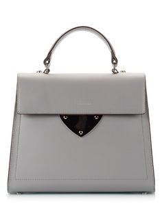 Coccinelle B14 Grey polished leather top-handle mini bag Μαύρο - http://women.bybrand.gr/coccinelle-b14-grey-polished-leather-top-handle-mini-bag-%ce%bc%ce%b1%cf%8d%cf%81%ce%bf/. bag, сумки модные брендовые, bags lovers, http://bags-lovers.livejournal