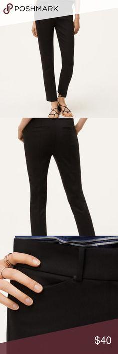 I just added this listing on Poshmark: LOFT skinny ankle pants in Marissa fit! Black. #shopmycloset #poshmark #fashion #shopping #style #forsale #LOFT #Pants
