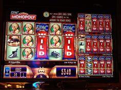 Epic Monopoly slot machine at The Wynn in Las Vegas