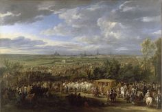 Adam Frans van der Meulen : The entry of King Louis XIV and Queen Maria-Theresa in Arras on 30 July 1667 (Château de Versailles (France - Versailles, Greater Paris)) アダム・フランス・ファン・デル・ミューレン Louis Xiv, Roi Louis, Philippe De Champaigne, Charles Viii, Ludwig Xiv, Chateau Versailles, Art Français, Maria Theresa, Painting Prints