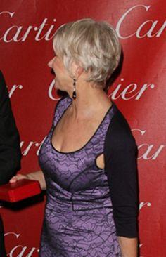 Helen Mirrens new short hairstyle!