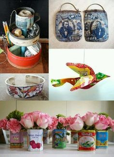 Things to make with vintage tins