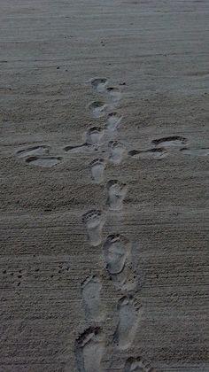 sand cross