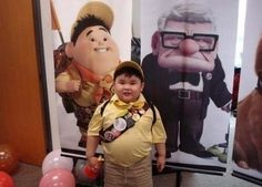 "IRL Russell From ""Up"" 