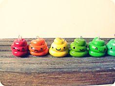 Cutie Poo!: Rainbow Turds!