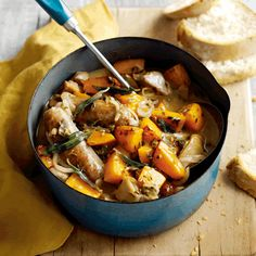 Easy chicken, sausage and apple cider stew | Ocado blog