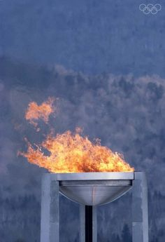 1980: Lake Placid hosts the Winter Olympic Games. Got to see the torch burn during 2010 Winter Olympics .