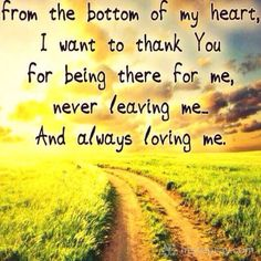 Father I just want to say thank you for all the wonderful things you are doing for me, my family and my friends