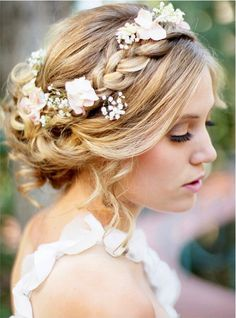 coiffure Chic et romantique