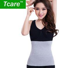 Tcare 1 pcs Bamboo Fiber Waist Brace Support Belt Breathable Waist Trainer Posture Corrector Slimming Waist Braces Health Care