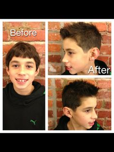 #Stylish Boy's Haircuts #Boy's Haircut Ideas www.fabriziosalonspa.com