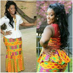 Kente Fabric Designs: See These Kente Styles For Fashionable Ladies - Lab Africa African Dresses For Women, African Print Dresses, African Print Fashion, African Fashion Dresses, African Attire, African Wear, African Women, African Prints, African Traditional Wedding Dress