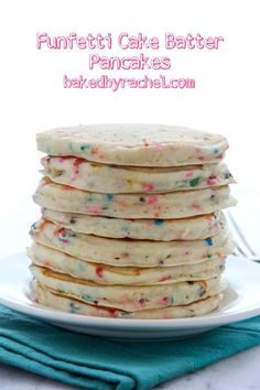 Funfetti Cake Batter Waffles Recipe Cake batter waffles