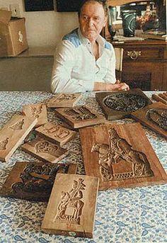 Oldrich Kvapil - cookie board carver - Czech Republicx -