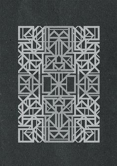 Geometric versions by Simek1, via Flickr