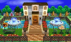 "Animal Crossing: Happy Home Designer- Tom Nook- ""Nook's Mansion"".  Visit in game: 0395-7719-955.   #AnimalCrossing #ACHappyHomeDesigner #ACHHD"
