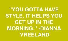 Oh Dianna Vreeland
