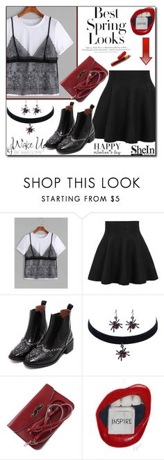 """""""SheIn 4 / VI"""" by emina136 ❤ liked on Polyvore featuring WithChic, H&M and WALL"""