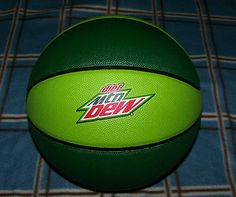9 inch Spaulding diet Mountain Dew Basketball Mtn DEW