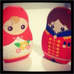 The lovely Matryoshka Doll iPhone cases