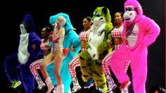 Miley Cyrus actúa esta noche en el Palau Sant Jordi de Barcelona y el martes lo hará en Madrid.