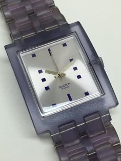 5941c5ad806 Ladies Square Swatch Watch This is a rare Ladies Square Swatch Watch. This  Swiss watch