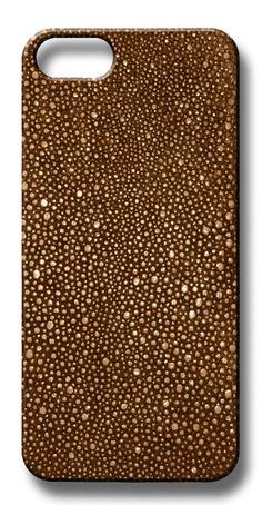 Valenz Handmade Embossed Stingray Leather iPhone Case