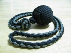 Attention Paracordist! Unique Monkey's Fist Self Defense Lanyard. You Haven't Seen Anything Like This - The Good Survivalist