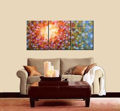 Original Large Abstract Painting Modern by AmyGiacomelli on Etsy, $360.00