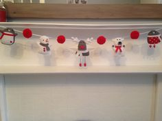 Items similar to Christmas felt garland banner, Scandi kids xmas, decoration for the fireplace on Etsy Felt Christmas Decorations, Felt Garland, Christmas Sewing, Handmade Felt, Merry And Bright, Felt Crafts, Xmas, Crochet, Holiday