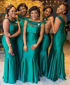 Beautiful Bridemaids 💚💚 captured by Petite Bridesmaids Dresses, Light Pink Bridesmaid Dresses, African Bridesmaid Dresses, Sequin Bridesmaid, Affordable Bridesmaid Dresses, Bridal Dresses, Party Dresses, Maid Of Honour Dresses, African Fashion Dresses