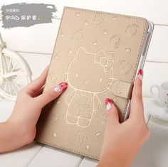IPad case with hello kitty pattern for inch