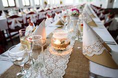 juta na svatební stůl - Hledat Googlem