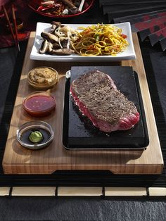 Steak on the Stone - The SteakStones Main Set