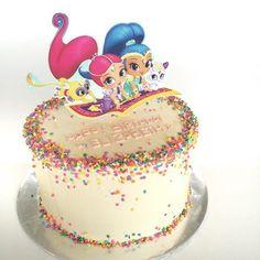 Image result for shimmer and shine cake