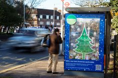 Homebase uses interactive 3D outdoor Christmas tree advert to promote re-launch of fifth busiest store
