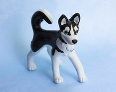 black_and_white_husky_dog_sculpture_by_sculpypups-d8ko1pr.jpg (1046×830)