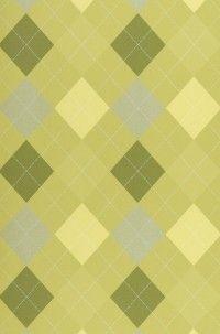 Green Argyle Wallpaper