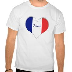 I love France tshirt