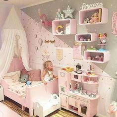 Home Decorating Ideas For Cheap Toddler girl bedrooms; kids bedrooms Home Design Ideas: Home Decorating Ideas For Cheap Home Decorating Ideas For Cheap Toddler girl bedrooms; Teenage Girl Bedrooms, Little Girl Rooms, Toddler Girl Bedrooms, Childrens Bedrooms Girls, Kid Bedrooms, Small Childrens Bedroom Ideas, Pink Toddler Rooms, Ikea Toddler Room, Small Girls Bedrooms