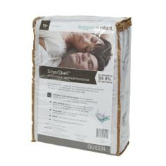 Leggett & Platt Home Textiles QD0156 Silvershell Mattress Protector, Queen by Leggett & Platt Home Textiles. Save 31 Off!. $41.64. 100-Percent waterproof and comes with a 10 year mattress warranty when purchased with a mattress. Leggett & Platt is one of the most widely recognized bed linen producers. Made from antimicrobial fabric protects against dust mites and germs. 10-Year limited warranty. Highly breathable fabric helps you sleep cool while feeling supple, smooth and extr...