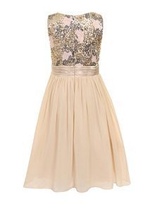 Buy your girls' dresses from our designer and high street collections at House of Fraser. Girls Dresses, Prom Dresses, Formal Dresses, Girl House, House Of Fraser, Your Girl, Bodice, Sequins, Wedding