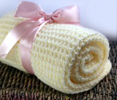 Baby Blanket, Handmade Knit Blanket, Perfect for Newborns and Toddlers, Great Gift, Baby Shower, Name Announcement, Crib Blanket, Car Seat Blanket.