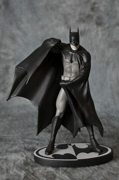 DC Batman Black and White Alex Ross Statue. Sold Out. Dark Knight
