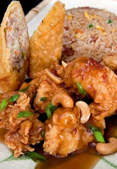 Leongs Asian Diner, the inventor of Springfield's cashew chicken.