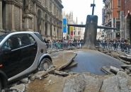 #L1FE submarine emerges in the center of milan