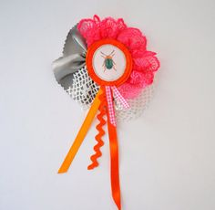 collage brooch
