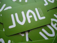 JVAL Construction Management, business cards I designed for a friend!
